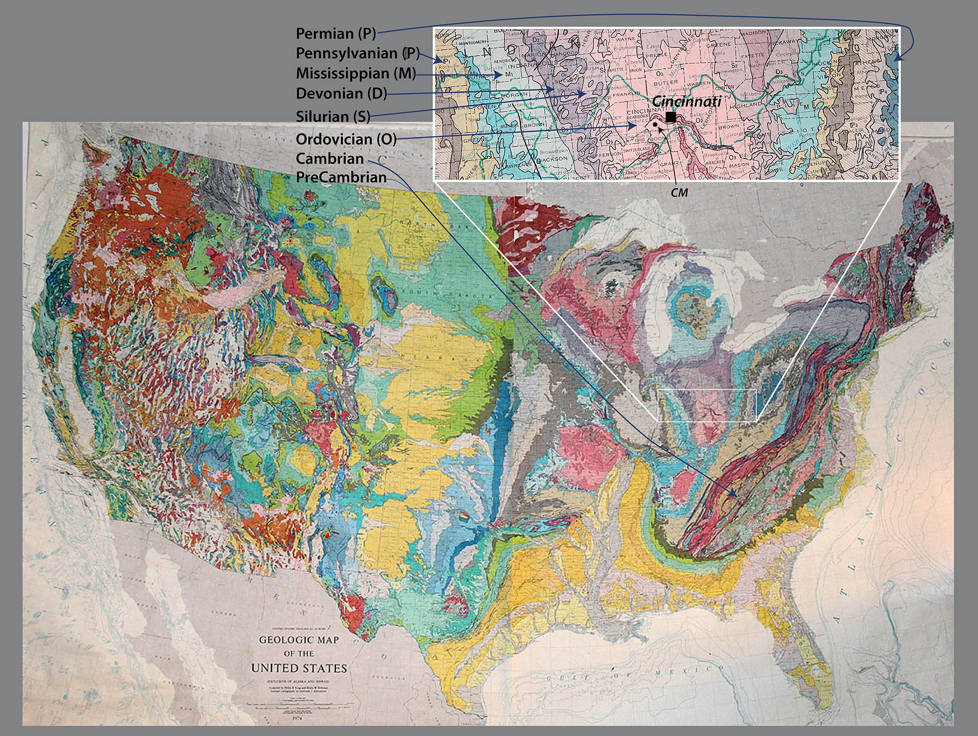 National Park Geologic Maps Geology Pics